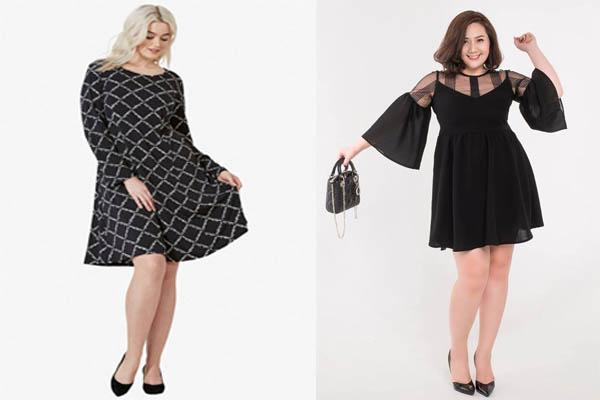 Váy công sở cho người mập lùn 11