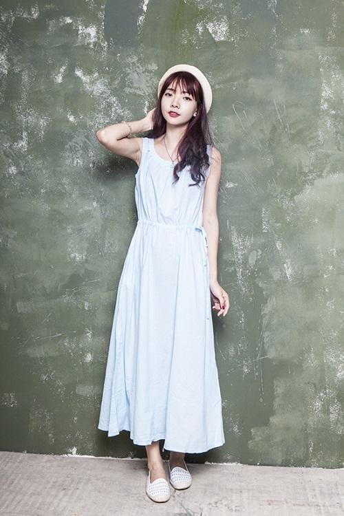 váy dài cho người lùn 55