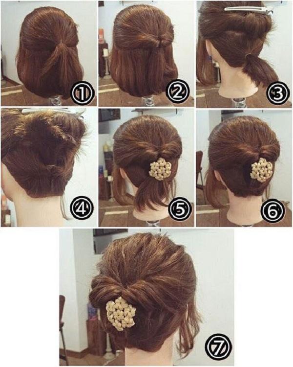 tết tóc ngắn
