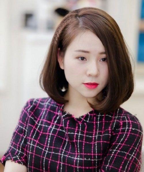 tóc ngắn cho tuổi 35