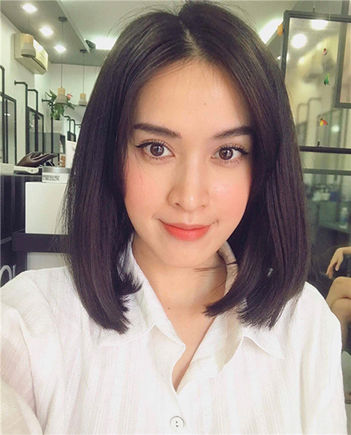 tóc ngắn Hàn Quốc