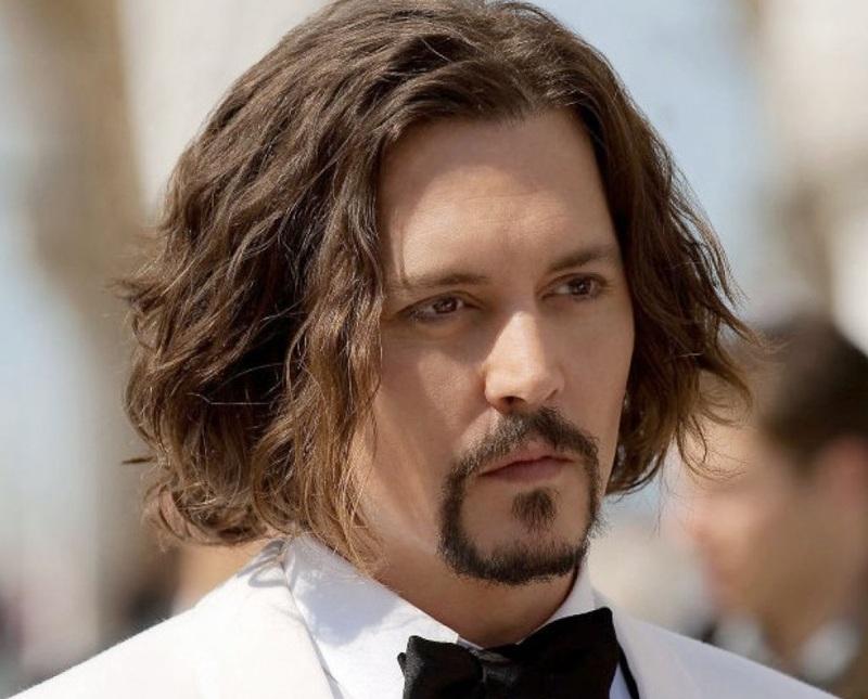 tóc nam xoăn dài