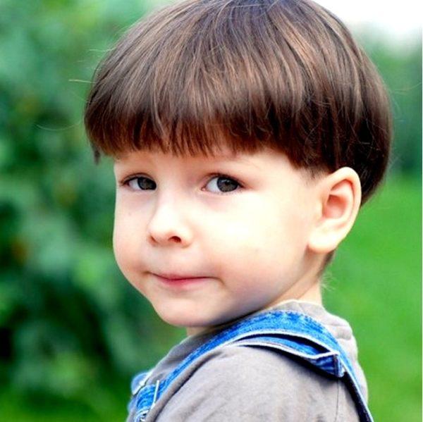 Kiểu tóc Đầu Nấm trẻ em