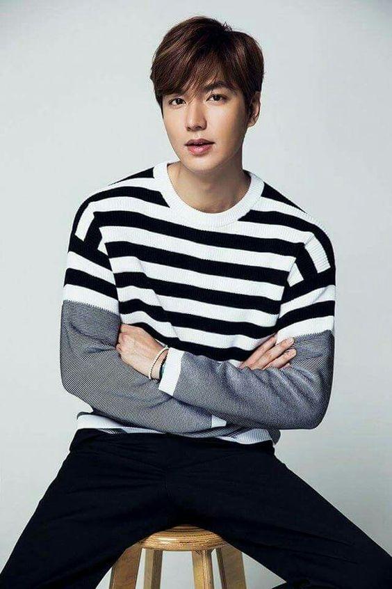 Lee Min Ho với mái tóc layer tỉa dài đậm chất lãng tử
