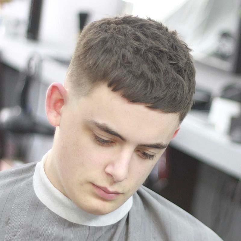 Kiểu tóc mái ngố cho tóc ngắn