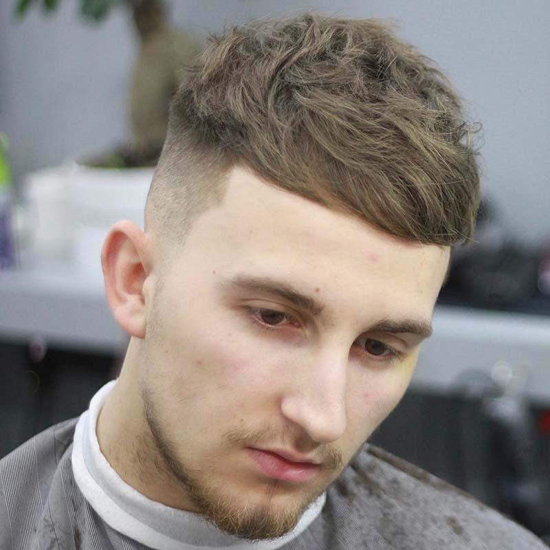 Kiểu tóc nam mái ngố