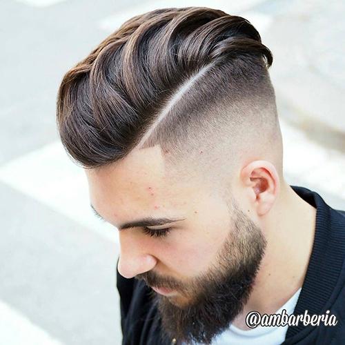 kiểu tóc nam cho mặt tròn 3