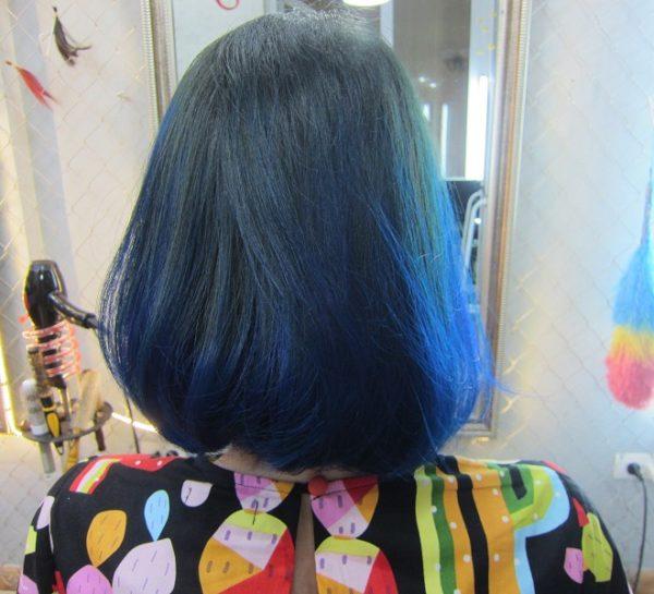 kiểu tóc ombre