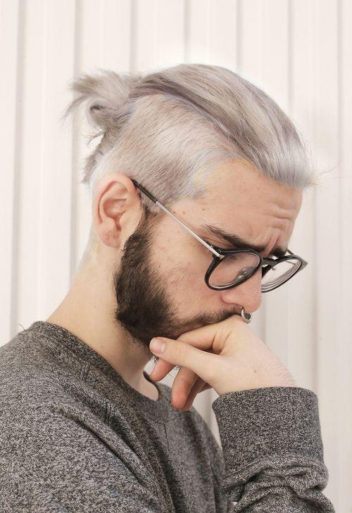 kiểu tóc man bun _1