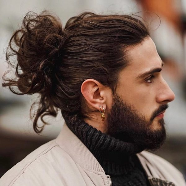 kiểu tóc man bun _6