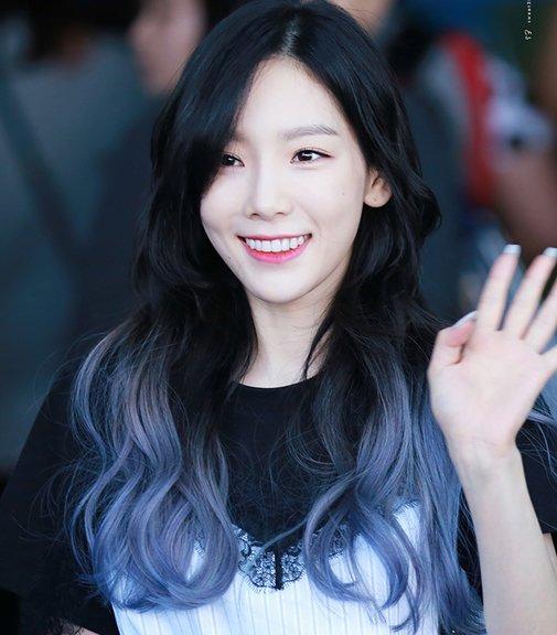 tóc ombre đẹp như Taeyeon