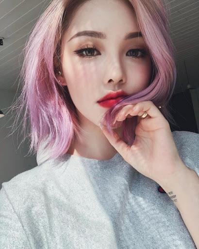 tóc ombre theo kiểu bạn gái uzzlang